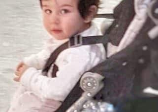 Taimur's curious look in this pic is like him saying,