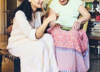 This picture of Alia Bhatt spending time with her grandma is going viral and will melt your heart - view pic