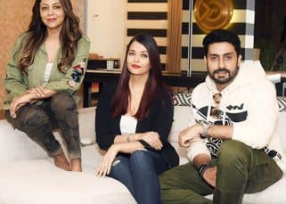 Aishwarya Rai Bachchan and Abhishek Bachchan spend New Year's eve with Gauri Khan - view pics