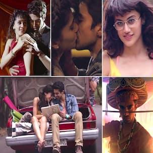 Dil Juunglee song Gazab Ka Hai Din: Saqib Saleem romances Taapsee Pannu and pays tribute to Ranveer Singh's Bajirao Mastani in this reprised number