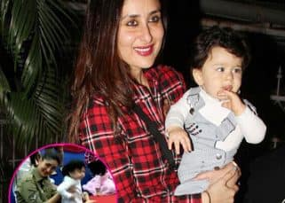 [INSIDE VIDEO] You cannot miss Kareena Kapoor's expression on seeing Taimur jumping with joy at this birthday party