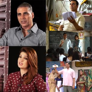 Padman making promo: Akshay Kumar and Twinkle Khanna take you on an inspiring journey of a mad man becoming a superhero - watch video