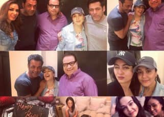 Photo Alert! Salman Khan and Bobby Deol give the sweetest birthday surprise to Preity Zinta