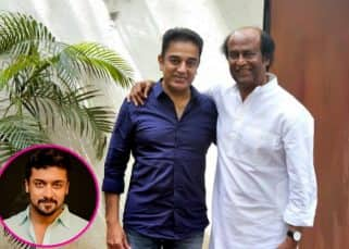 Suriya congratulates Rajinikanth and Kamal Haasan for their political entry; offers support to them!