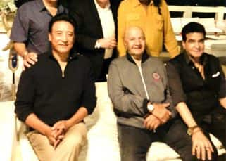 Pictures of Rishi Kapoor's reunion with his friends of years will make you want to binge-watch '80s Bollywood movies