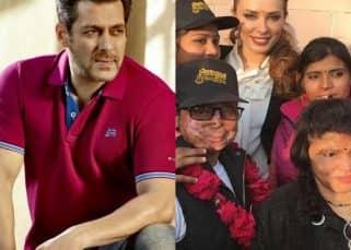 [Pics] While Salman Khan endorses Being Human; Iulia Vantur does her bit for the acid attack survivors
