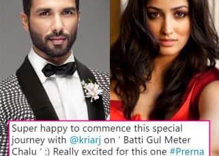 Shahid Kapoor's Batti Gul Meter Chalu gets Yami Gautam on board