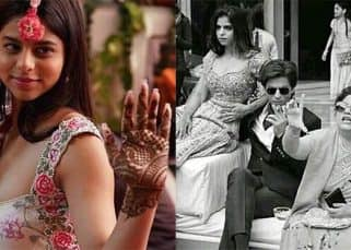 Suhana Khan has her own 'Mehendi Laga Ke Rakhna' moment at a Delhi wedding - view pics!