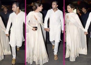 Padmaavat screening: Deepika and Ranveer walking hand in hand is almost like they saying,