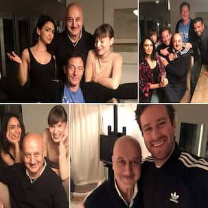 Anupam Kher reunites with the cast of Hotel Mumbai in Los Angeles- view pics