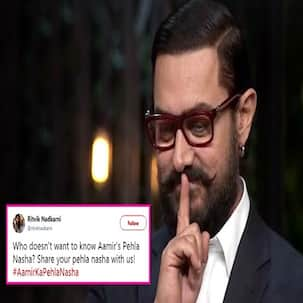 Aamir Khan reveals his favourite Valentine's Day track but Twitter wants to know only about #AamirKaPehlaNasha