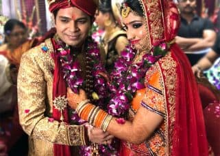 First pics out! Ankit Tiwari and Pallavi Shukla are MARRIED