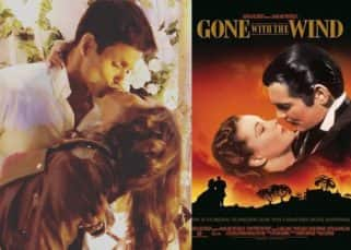 No kidding! This picture of Drashti Dhami and Neeraj Khemka will remind you of the iconic poster of Gone With The Wind