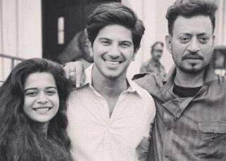 Dulquer Salmaan and Irrfan Khan call it a wrap on Karwaan