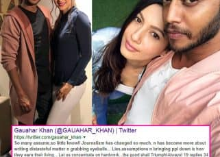 WHAT! Gauahar Khan slams dating rumours with choreographer Melvin Louis through a cryptic post and later deletes it