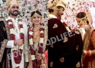 These INSIDE PICS from Gaurav Chopra and Hitisha Cheranda hush-hush wedding are unmissable