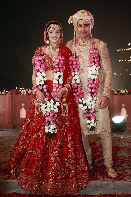 Inside Pics Gautam Rode And Pankhuri Awasthy S Marriage