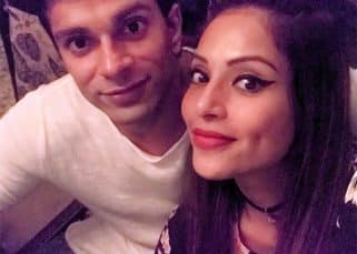 Bipasha Basu and Karan Singh Grover can't stop kissing each other while celebrating Valentine's Day - watch video