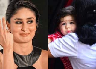Taimur tries the 'Bebo pout' and we have captured it in 5 clicks