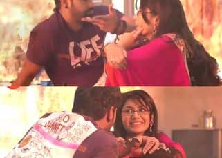 Kumkum Bhagya 20th February 2018 Written Update Of Full Episode: Drunk AbhiGya decide to have kids and for this purpose escape the fire