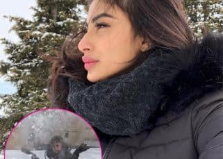 Mouni Roy braving the frozen Bulgarian landscape to make icy hearts will melt even the stone-hearted - watch video