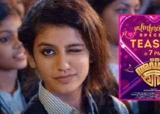 Oru Adaar Love teaser starring internet sensation Priya Prakash Varrier will be out on Valentine's Day
