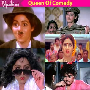 From Mr India to Chaalbaaz - A look at Sridevi's immensely funny scenes