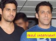 EXCLUSIVE VIDEO! When Salman Khan surprised Sidharth Malhotra at his doorstep