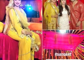 Dipika Kakar – Shoaib Ibrahim's sangeet ceremony is colourful, vibrant and will take you to 90s era of Bollywood