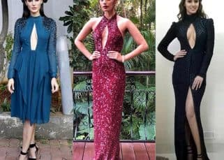 Manushi Chhillar has been spared trollers' wrath for wearing a cut out dress but Disha Patani and Nargis Fakhri weren't as lucky