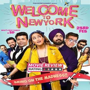 Welcome To New York movie review: Diljit Dosanjh-Sonakshi Sinha and Karan Johar's award film is not a rewarding watch