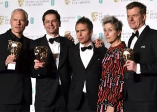 BAFTA Awards 2018 FULL winners list: Three Billboards Outside Ebbing, Missouri and The Shape Of Water win big