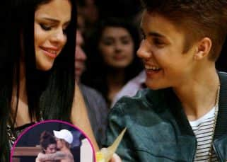 Justin Bieber and Selena Gomez can't take their hands off each other at Jeremy Bieber's wedding