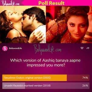 Old is gold! Tanushree-Emraan's original wins when pitted against Urvashi's reprised version of Aashiq Banaya Aapne