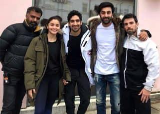 Brahmastra diaries: Ranbir and Alia strike a pose with director Ayan and trainer Ido Portal - view pic