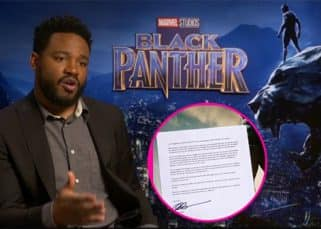 Ryan Coogler pens a letter thanking fans for supporting Black Panther- view pic