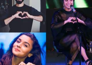 Just 14 pictures of Shraddha Kapoor, Shahid Kapoor, Alia Bhatt making hearts with their palms