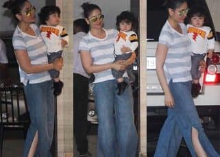 Kareena Kapoor Khan and baby Taimur had a rather POWERFUL weekend - view HQ pics