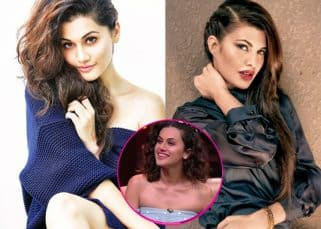 Taapsee Pannu says she is jealous of her Judwaa 2 co-star Jacqueline Fernandez - watch video