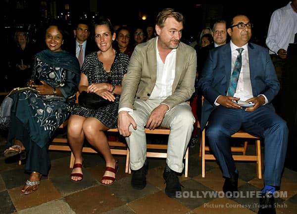 Shah Rukh Khan's 'fanboy' moment with Christopher Nolan