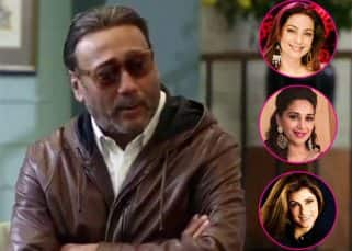 Jackie Shroff reveals he had a crush on Juhi Chawla, Madhuri Dixit and Dimple Kapadia - watch video