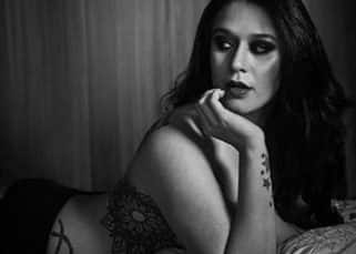 Tiger Shroff's sister Krishna Shroff goes topless for a monochrome photo shoot and the pictures are a study in aesthetics