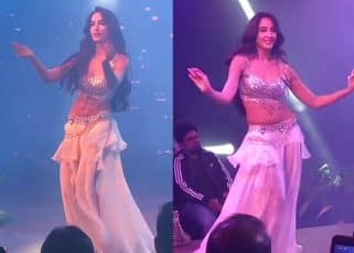Nora Fatehi's impromptu belly dance is the hottest thing you will see today - watch video