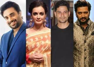 R Madhavan, Kunal Kemmu, Dia Mirza, Riteish Deshmukh - Bollywood celebs hail farmers rally in Mumbai
