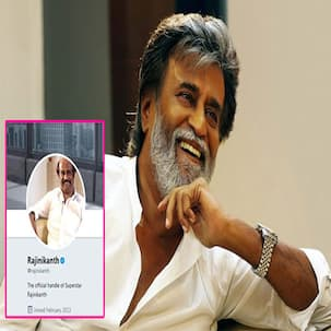 Rajinikanth drops the word 'superstar' from his Twitter handle perhaps because his name translates to stardom anyway