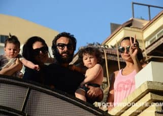Sorry Kareena, but a sun-soaking Taimur is stealing all the limelight away from your pout - view pics