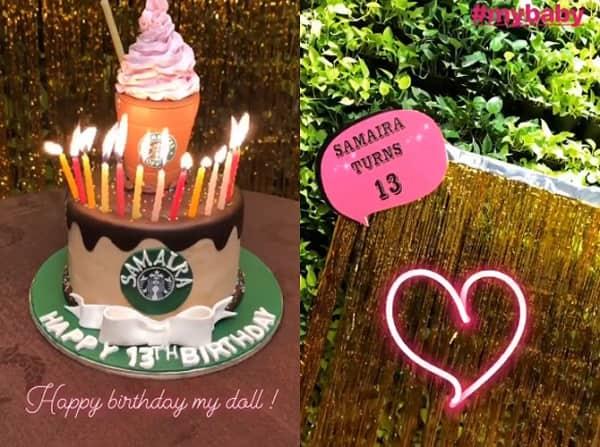 Samaira-birthday-cake