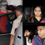 [PICS] Arjun Kapoor hosts a sweet get-together for Boney Kapoor, Janhvi and Khushi at his house