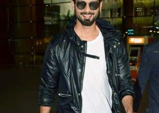Batti Gul Meter Chalu: Shahid Kapoor aces the monochrome look as he returns after the first schedule wrap - view pics