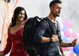 Baaghi 2: Disha Patani seems happy, although Tiger Shroff is going away, in this still from the song Lo Safar